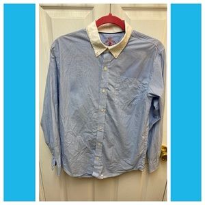 Blue Izod Dress Shirt